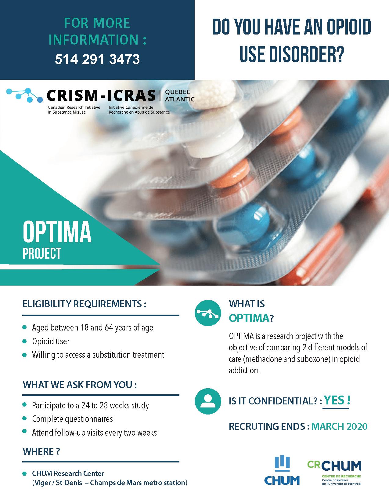 OPTIMA Trial - CRISM